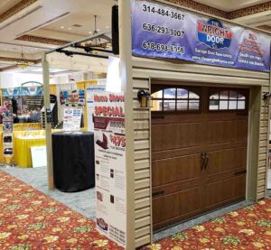 The Wright Door Co. home show booth